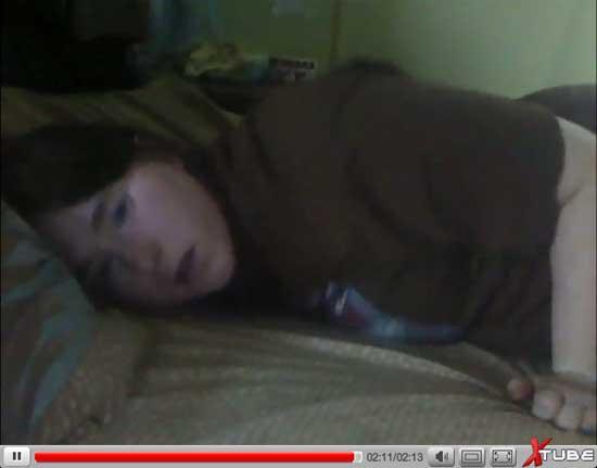 Female Pillow Masturbation 57