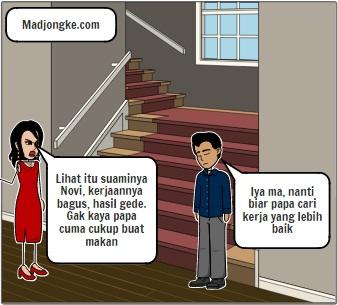 membandingkan suami sendiri dengan orang lain