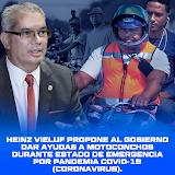 Heinz Vieluf propone al gobierno dar ayudas a Motoconchos durante estado de emergencia por pandemia COVID-19 (Coronavirus)..