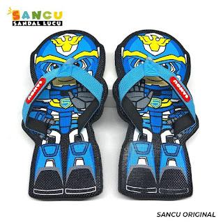 Sandal Sancu Motif Robot