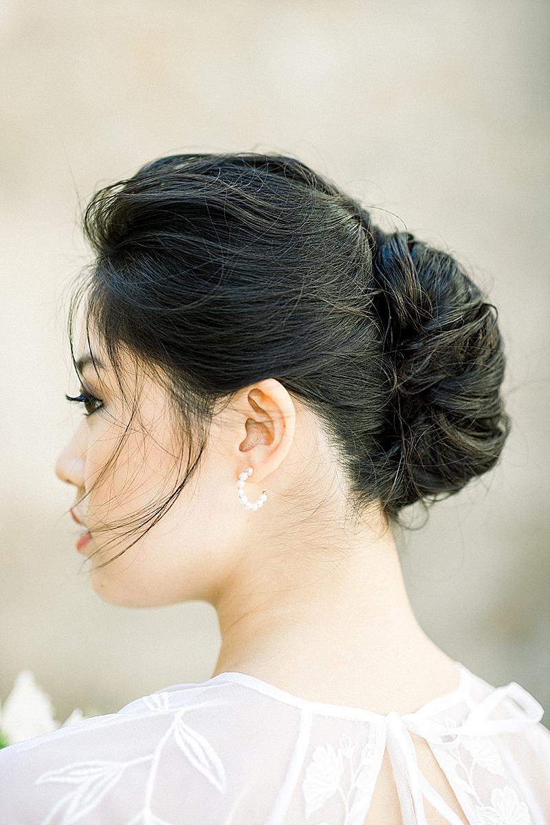 Asian Bride in Southern California