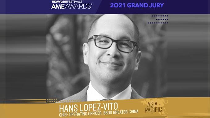 Bacolodnon named as Juror in prestigious US Awards for advertising & marketing