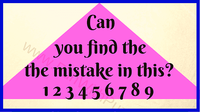 Can you find the the mistake in this? 1 2 3 4 5 6 7 8 9