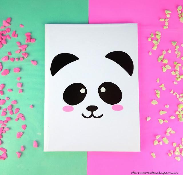 Caderno panda