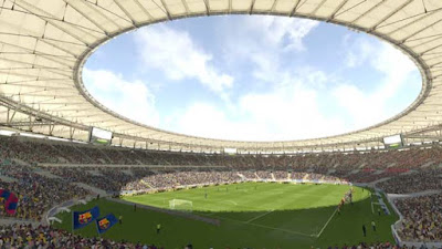 Barcelona Stadium, PES 2017, New Look, With Improved Graphics