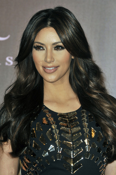 Kim Kardashian Hairstyle 2011 Hot Kim Kardashian Layered