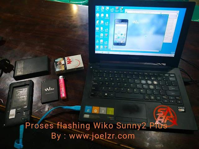 Cara flashing Wiko Sunny2 Plus Dengan PC-Laptop