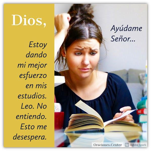 Oración para el Estudio