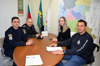 Guarda Municipal de Porto Alegre (RS) firma parceria para investigar pichadores