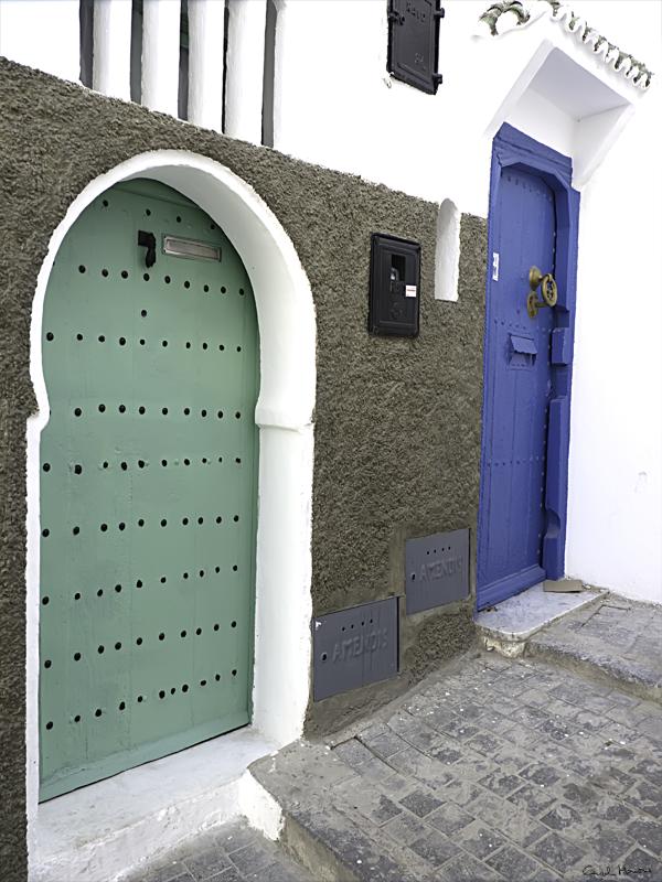 Matisse vivió aquí, en la puerta verde.