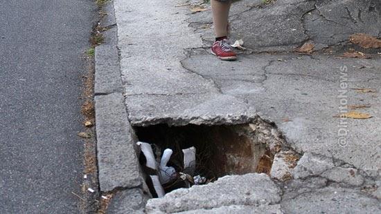 pedestre caiu buraco rua indenizado municipio