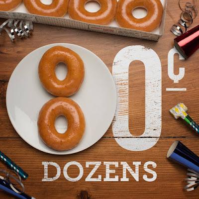 Krispy Kreme Original Glazed Malaysia Discount Offer Promo