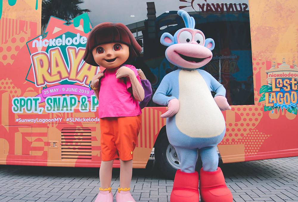 Pen My Blog Experiencing Sunway Lagoon Nickelodeon Raya