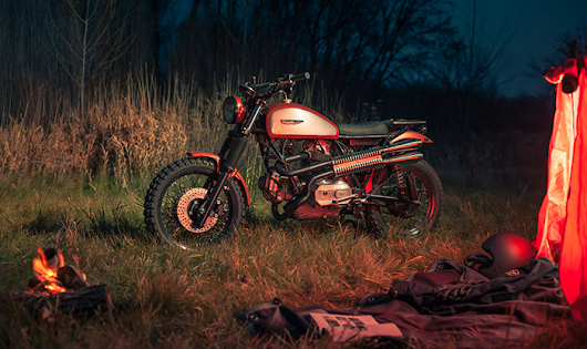 Super Scrambler by Analog Motorcycles
