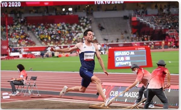 """""""Μυθικός"""" Τεντόγλου: «Πέταξε» στα 8.41μ. στο τελευταίο του άλμα και κατέκτησε το χρυσό μετάλλιο!"""