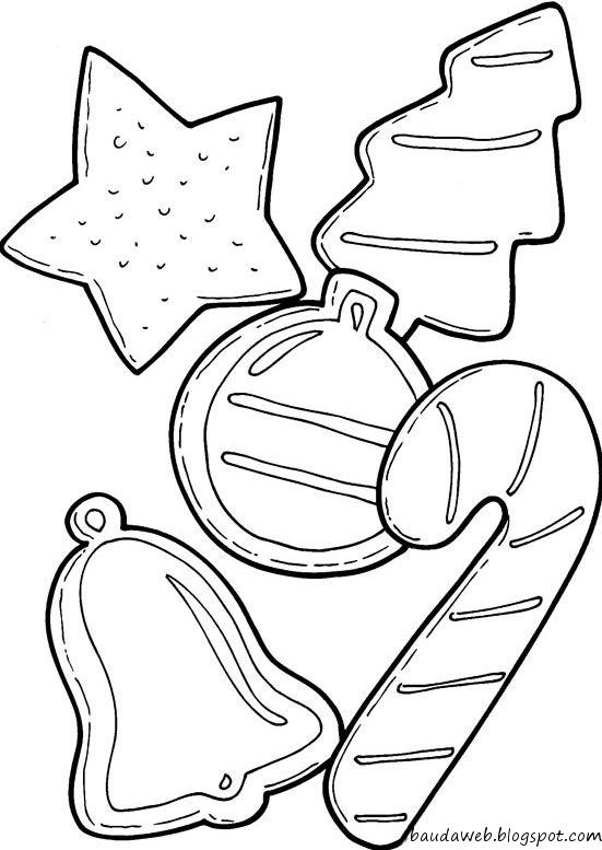 Desenhos De Guirlandas De Natal Para Colorir