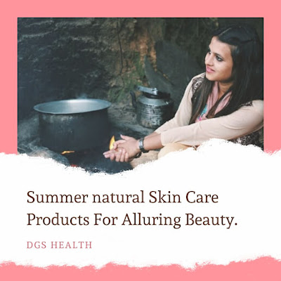 how to care skin and hair in summer