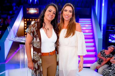 Silvania e Patricia (Foto: Gabriel Cardoso/SBT)