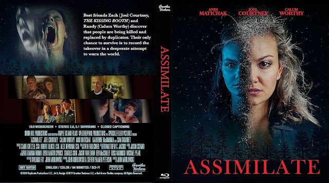 Assimilate DVD Cover