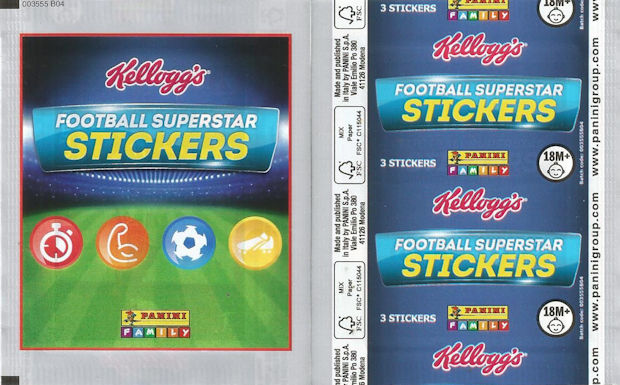 football superstar stickers
