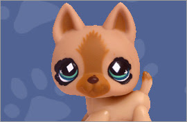 LPS German Shepherd Figures