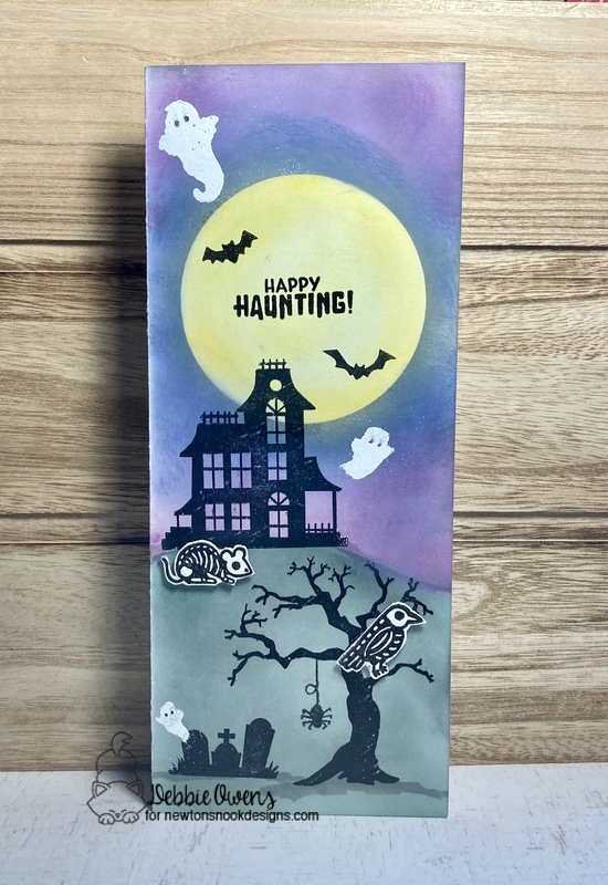Happy haunting by Debbie features    by Newton's Nook Designs; #newtonsnook