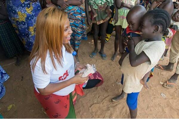 Little Nigerian girl