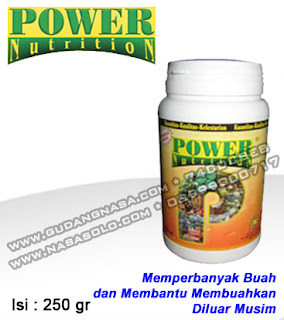 POWER NUTRITION NASA 250GRAM Rp.70.000,-