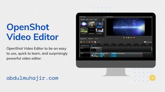 openshot Software Video Editing
