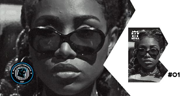 A mc e cantora carioca Ebony, é a primeira entrevistada do Podcast Rap Di Mina