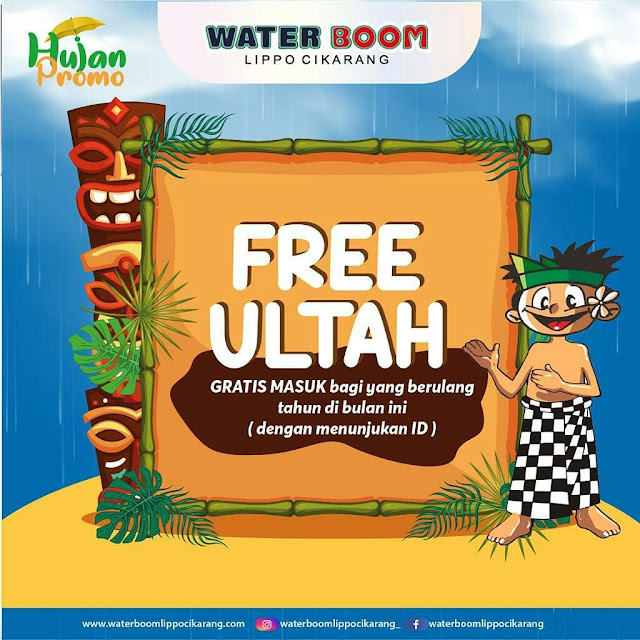 #WaterBommLippo - #November Hujan #Promo 2019 (s.d 30 Nov 2019)