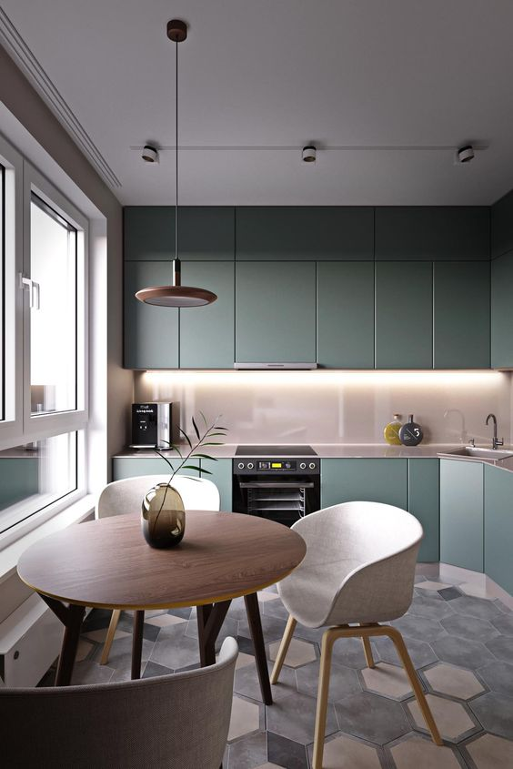 Colorful Kitchens Everyone Should Try