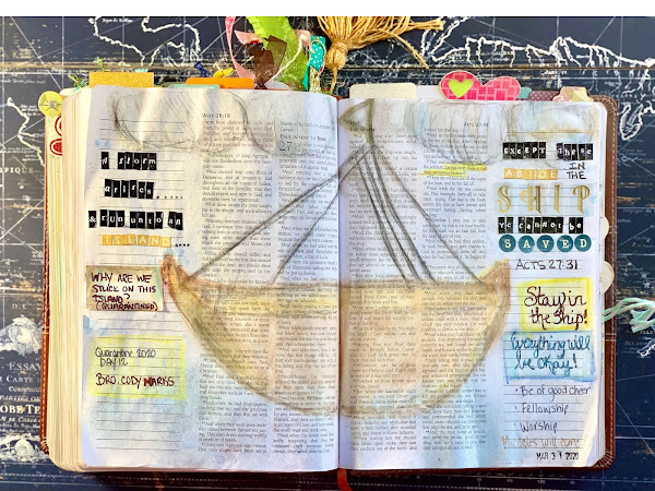Bible Journaling: Stay in the Ship