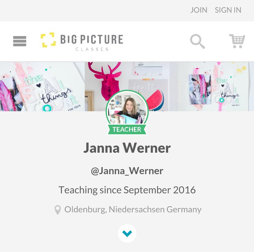 Janna Werner @BigPictureClasses // Instagram: jannawerner