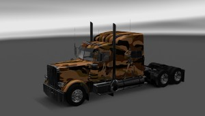 Camouflage Skin for Peterbilt 389