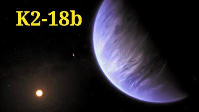 K2-18b exoplaneta que podría ser habitable