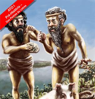 Pré-História, das Pedras às Letras - Livro - Homo Sapiens - Caçadores coletores - Suméria - Crescente Fértil - Escrita Cuneiforme