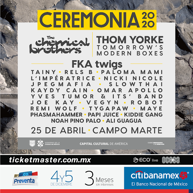 Cartel Ceremonia 2020