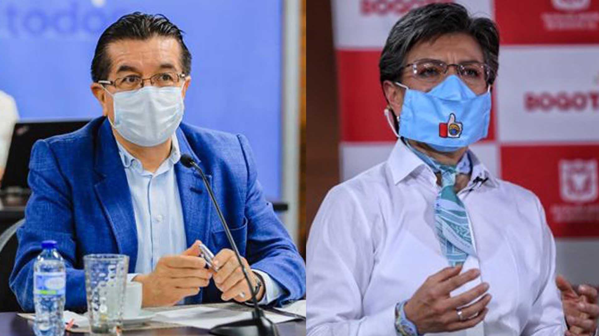 """""""Deje de poner cortinas de humo a su responsabilidad sobre el contagio"""": Ministro de Salud"""