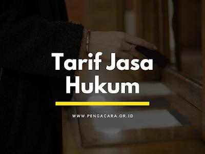 TARIF JASA HUKUM
