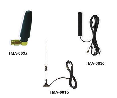Various types of external antennas