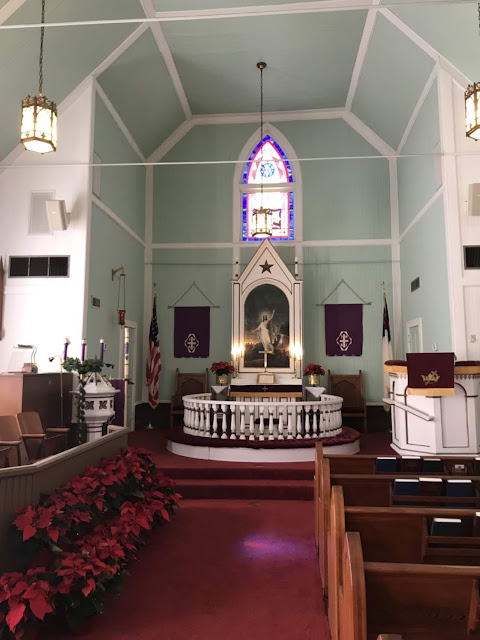 sanctuary at Our Savior's Church at Norse