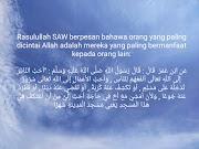 Jadilah Muslim Yang Bermanfaat Pada Orang Lain
