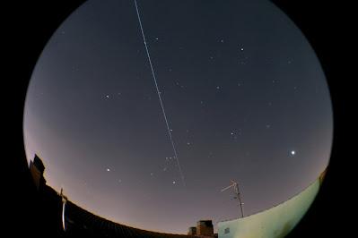 Pas de la ISS per sobre de Manresa - 19/03/2020