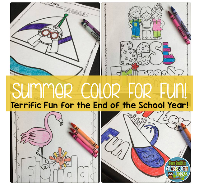 https://www.teacherspayteachers.com/Product/Color-For-Fun-Summer-Coloring-Pages-Printables-1851011