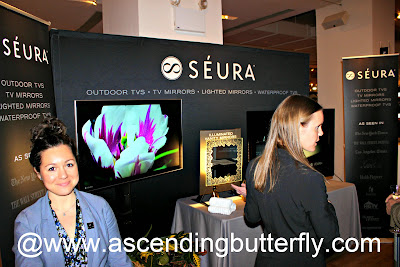 Seura on display at The Luxury Technology Show New York City March 2015