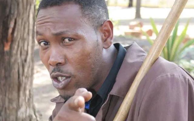 Tahidi High actor Peter Kamau Kinuthia crying video