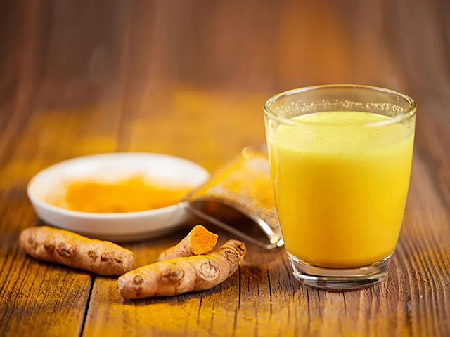 Turmeric Milk - Knee Pain Relief Home Remedy