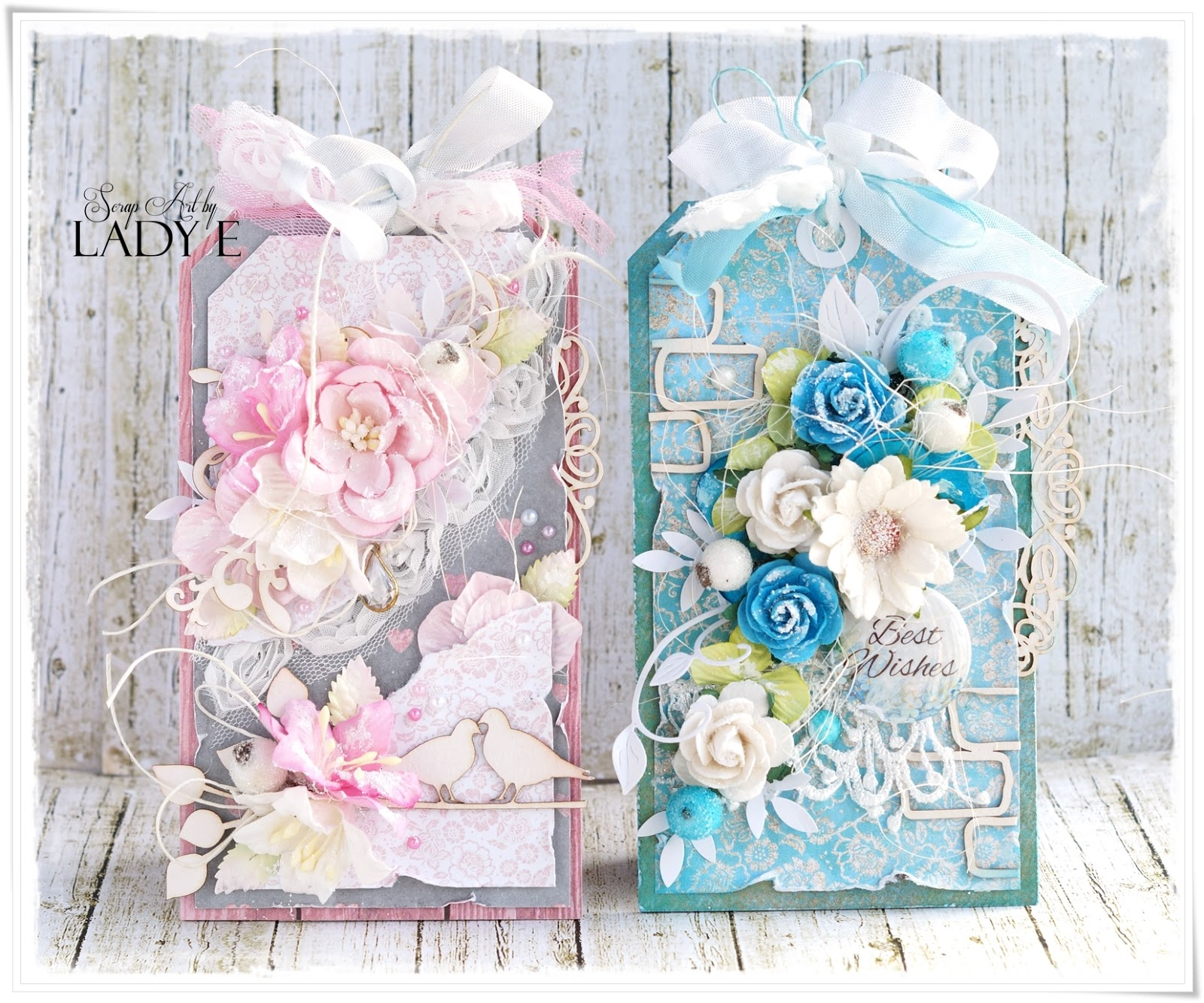 Wild Orchid Crafts: 2 Shabby Chic Tags