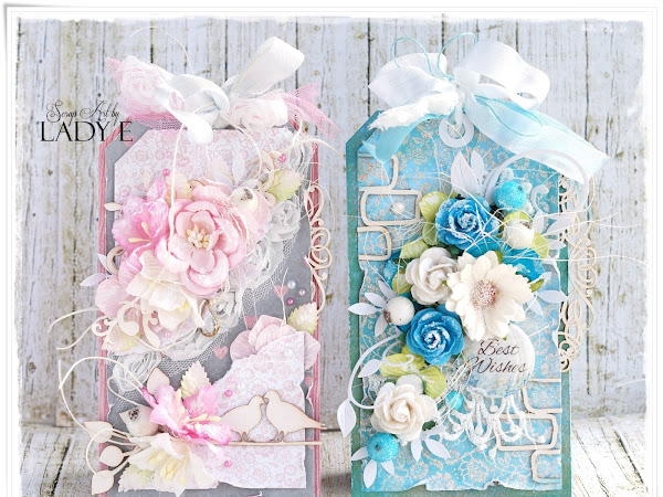 2 Shabby Chic Tags - Wild Orchid Crafts DT